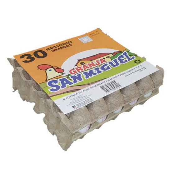 Imagen de Pack 1x30 Huevos Blanco Grande de 72 grs