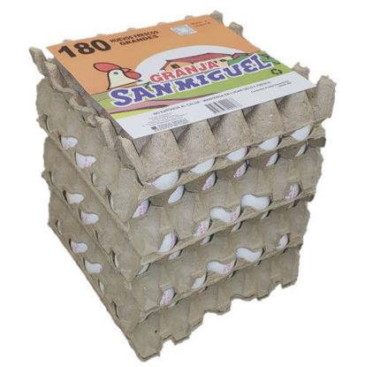 Imagen de Pack 6x30 Huevos Blanco Grande de 72 grs.
